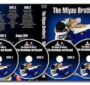 DVD Jiu Jitsu Brésilien – Miyao Brothers – Berimbolo (4 dvd)