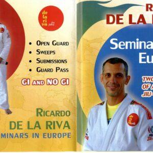 DVD jiu jitsu Brésilien Ricardo De La Riva